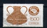 Stamps of the world : Mexico :  exportación de cobre martillado