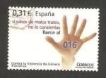 Stamps of the world : Spain :  4389 - Contra la violencia de género