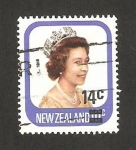 Stamps : Oceania : New_Zealand :  reina isabel II
