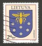 Sellos del Mundo : Europa : Lituania : escudo de armas de varena
