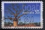 Stamps Oceania - Australia -  Arboles de Australia. Boab.
