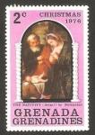 Sellos de America - Granada -  navidad 1976