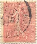 Stamps France -  Republique française postes