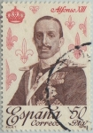 Stamps of the world : Spain :  Reyes de España-Casa de Borbon-Alfonso XIII-1978