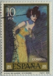 Stamps of the world : Spain :  Pablo Picasso-El final del numero-1978
