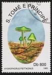 Stamps São Tomé and Príncipe -  SETAS:220.053  Hygrophorus psittacinus