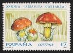 Sellos del Mundo : Europa : España : SETAS-HONGOS: 1.232.001,00-Amanita caesarea