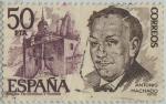 Stamps of the world : Spain :  Personajes españoles-Antonio Machado-1978