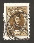 Stamps : America : Argentina :  915 - General José de San Martín