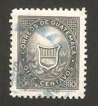 Stamps Guatemala -  escudo