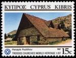 Sellos de Asia - Chipre -  CHIPRE: Iglesias pintadas de la región de Troodos
