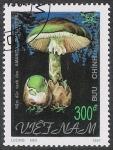 Stamps Vietnam -  SETAS:261.031   Amanita phalloides