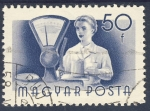 Stamps Hungary -  comerciante