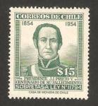Sellos del Mundo : America : Chile :  presidente j. j. prieto