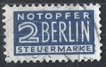 Stamps Germany -  Berlin,  Cifra.
