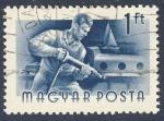 Stamps Hungary -  trabajador de astillero