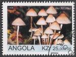 Sellos del Mundo : Africa : Angola : SETAS-HONGOS: 1.104.012,01-Mycena alcalina -Sc.1076