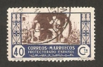 Stamps : Africa : Morocco :  Herreros