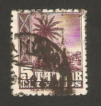 Stamps : Africa : Morocco :  Tanger - 153 - Paisaje de Tanger