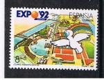 Stamps Europe - Spain -  Edifil  3050  Exposición  Universal de Sevilla  EXPO¨92