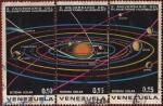 Stamps Venezuela -  X ANIVERSARIO DEL PLANETARIO HUMBOLDT