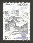 Stamps Andorra -  paisaje nevado