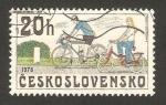 Sellos del Mundo : Europa : Checoslovaquia : bicicletas modelo año 1978