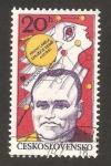 Stamps Czechoslovakia -  2238 - sergej pavlovic koroljov, ingeniero espacial