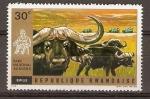 Stamps Rwanda -  BUFALOS