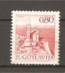 Stamps Yugoslavia -  Vistas.