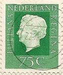 Stamps of the world : Netherlands :  Juliana Regina 75 C