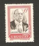 Sellos de America - Uruguay -  784 - Tomás Berreta, presidente de la república