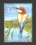 Sellos de Europa - Bosnia Herzegovina -  fauna, merops apiaster, abejaruco común