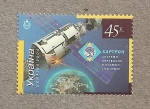 Stamps Europe - Ukraine -  Satélites