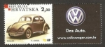 Stamps Europe - Croatia -  volkswagen