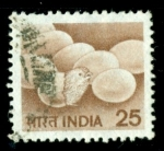 Stamps : Asia : India :  Aves