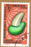 Stamps Africa - Cameroon -  Frutas - Annona Muricata