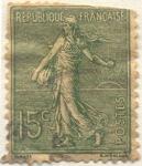Stamps Europe - France -  Republique française postes