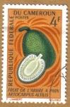 Sellos del Mundo : Africa : Camerún : Frutas - Artocarpus Artilis