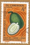 Stamps Africa - Cameroon -  Frutas - Artocarpus Artilis