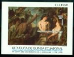 Sellos del Mundo : Africa : Guinea_Ecuatorial : Maestros de la Pintura. Venta