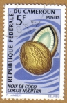 Stamps : Africa : Cameroon :  Frutas - Cocos Nucifera