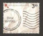 Sellos de Europa - Croacia -  día del sello