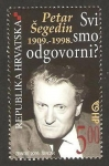 Stamps Croatia -  petar segedin, escritor