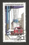 Sellos de Europa - Alemania -  transporte de contenedores