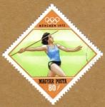 Stamps Hungary -  Munich 1972