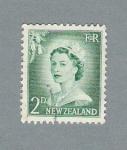 Sellos de Oceania - Nueva Zelanda -  Isabel II