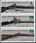 Stamps Germany -  Fusiles