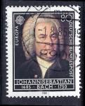Sellos del Mundo : Europa : Alemania : 300 Aniversario del nacimiento de Bach.