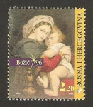 Stamps Bosnia Herzegovina -  navidad 1996